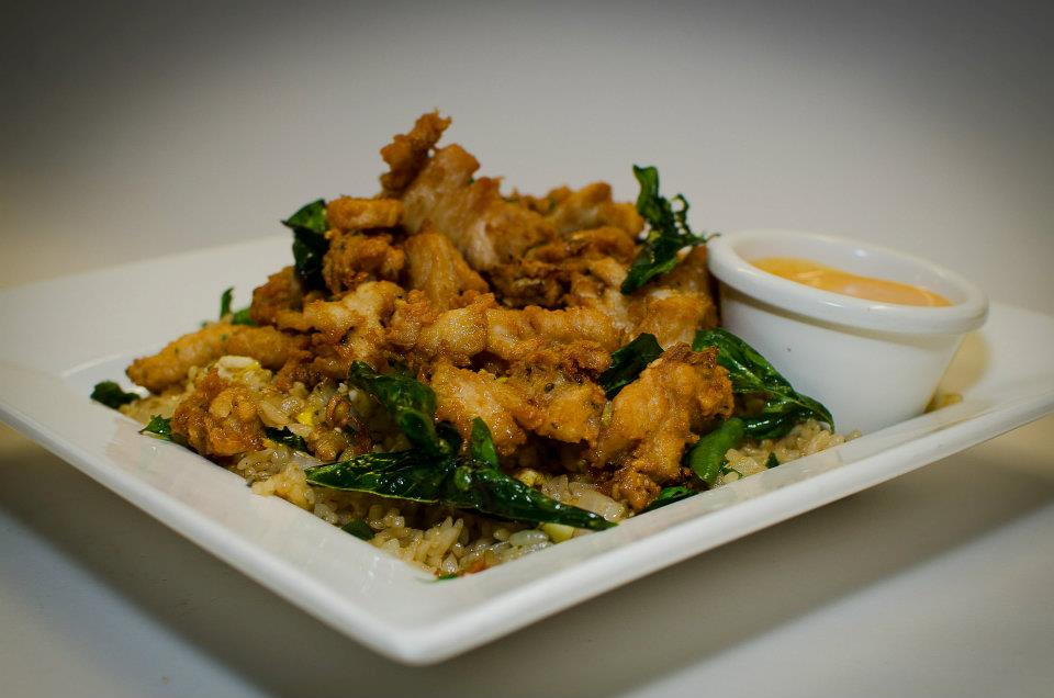 RawZ Café of Monroe 2015 Fried Rice